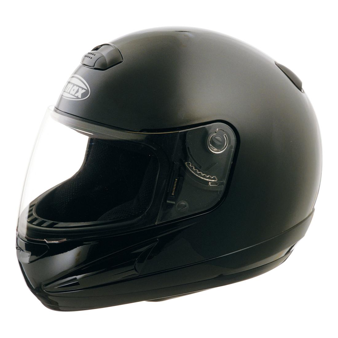 GMAX GM38 Black Full Face Helmet