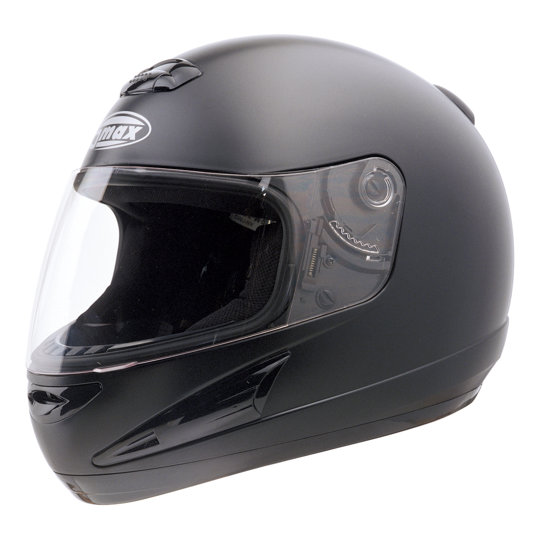 GMAX GM38 Flat Black Full Face Helmet