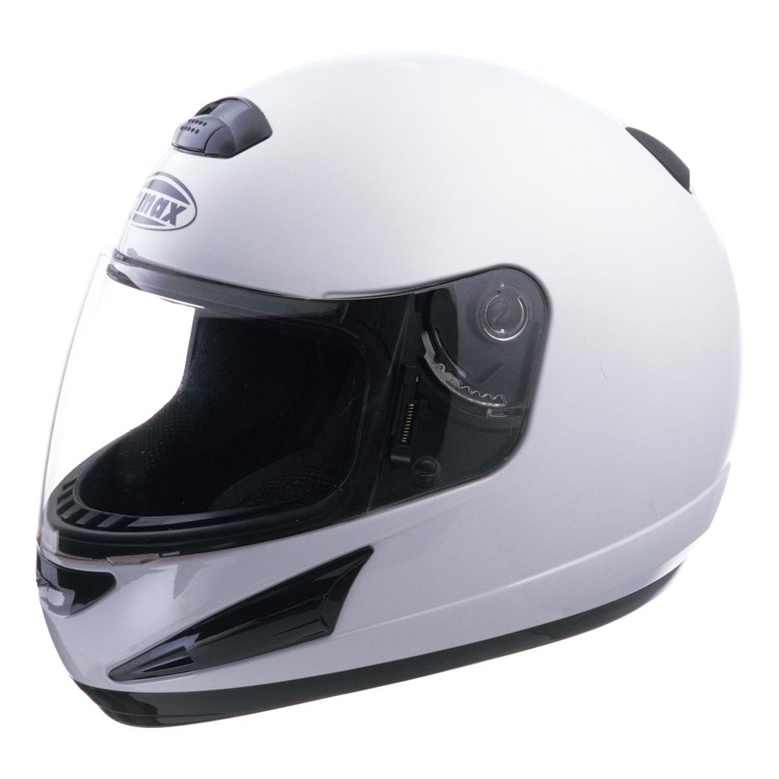 GMAX GM38 White Full Face Helmet