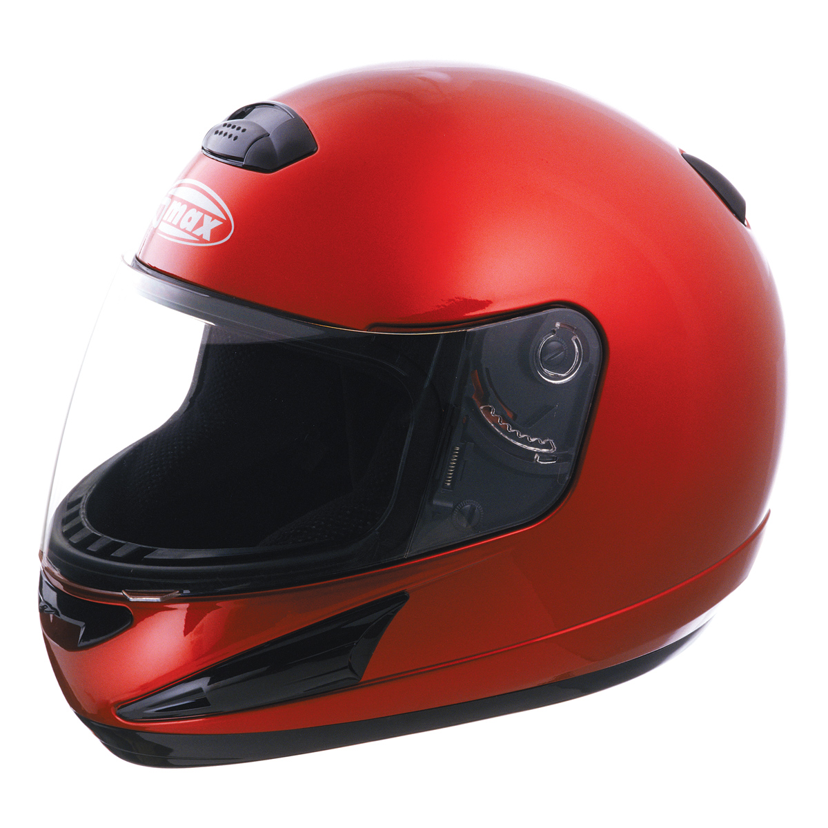 GMAX GM38 Candy Red Full Face Helmet
