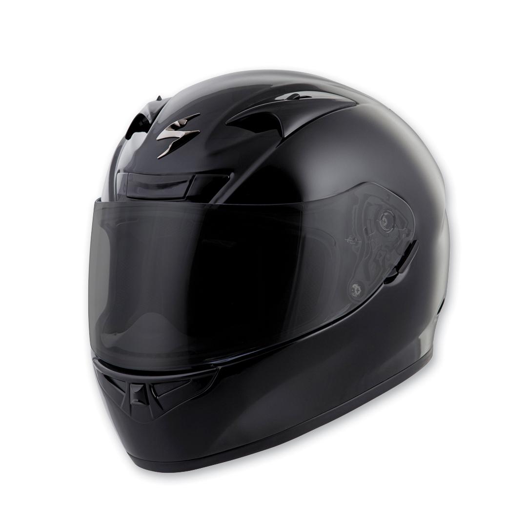 26d2e775 Scorpion EXO EXO-R710 Gloss Black Full Face Helmet - 71-0034 ...