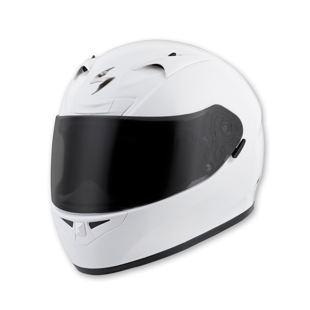 Scorpion EXO EXO-R710 Gloss White Full Face Helmet