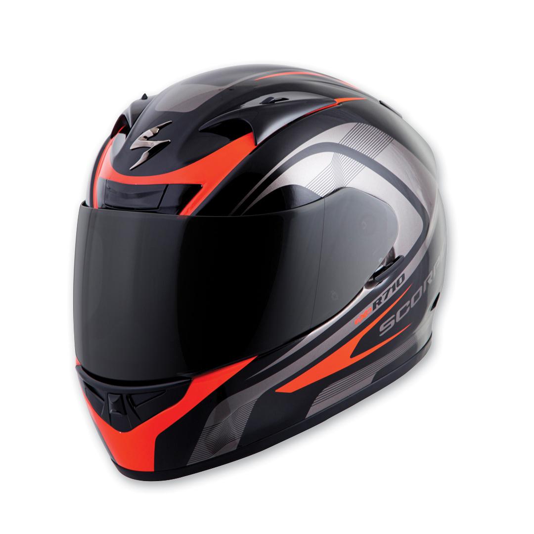 Scorpion EXO EXO-R710 Focus Red Full Face Helmet