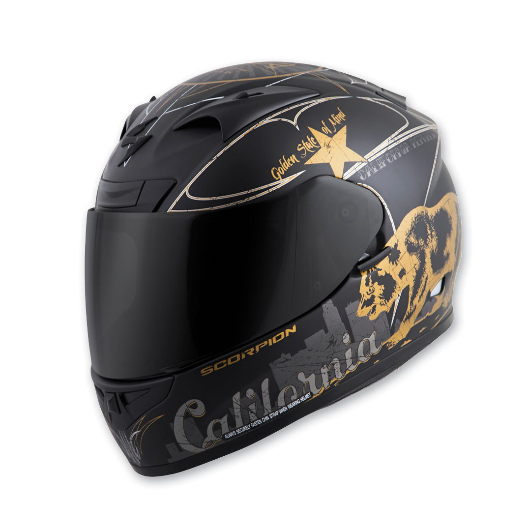 Scorpion EXO EXO-R710 Golden State Full Face Helmet