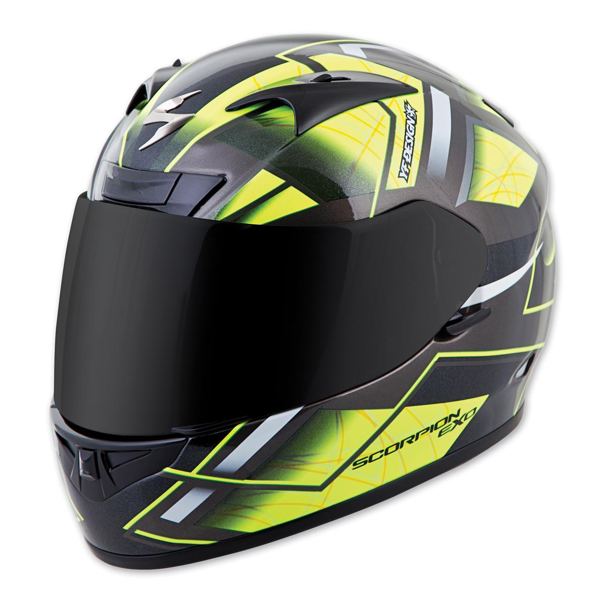 Scorpion EXO EXO-R710 Fuji Neon Full Face Helmet
