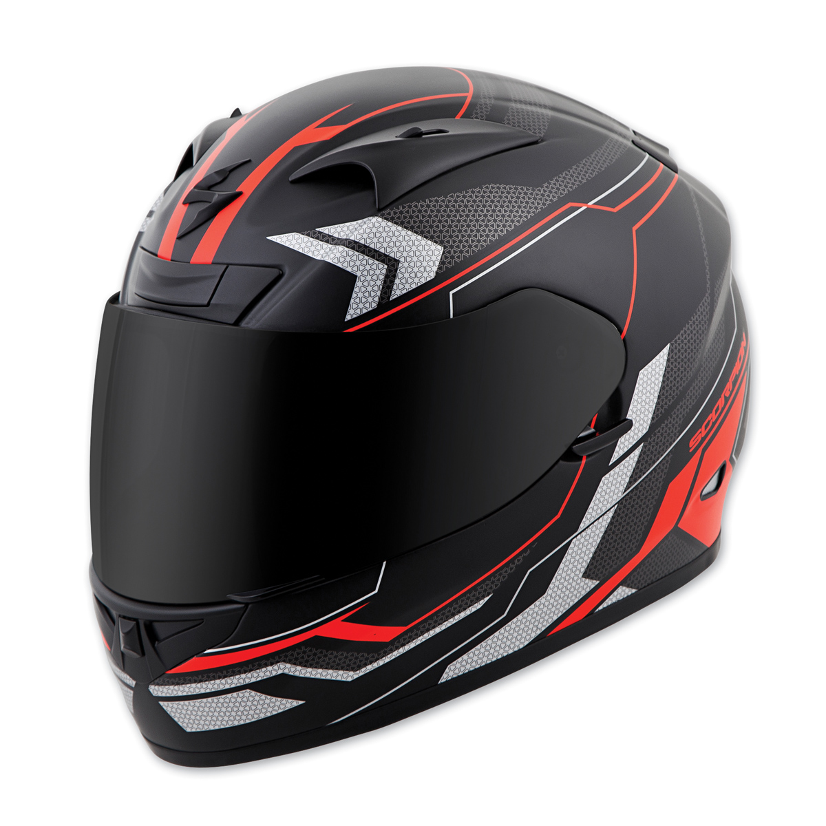 Scorpion EXO EXO-R710 Transect Red Full Face Helmet
