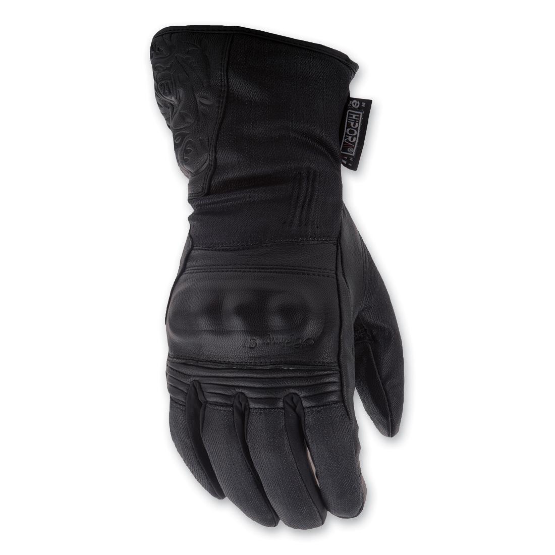 Highway 21 Women's Rose Black Gloves