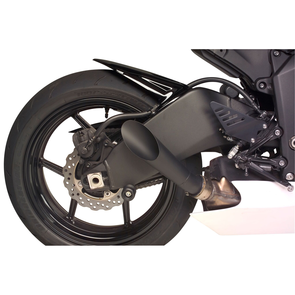 Hotbodies Black Megaphone Slip-on Exhaust