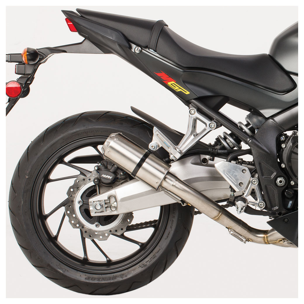 Hotbodies MGP II Full Exhaust System w/Stainless Steel Canister
