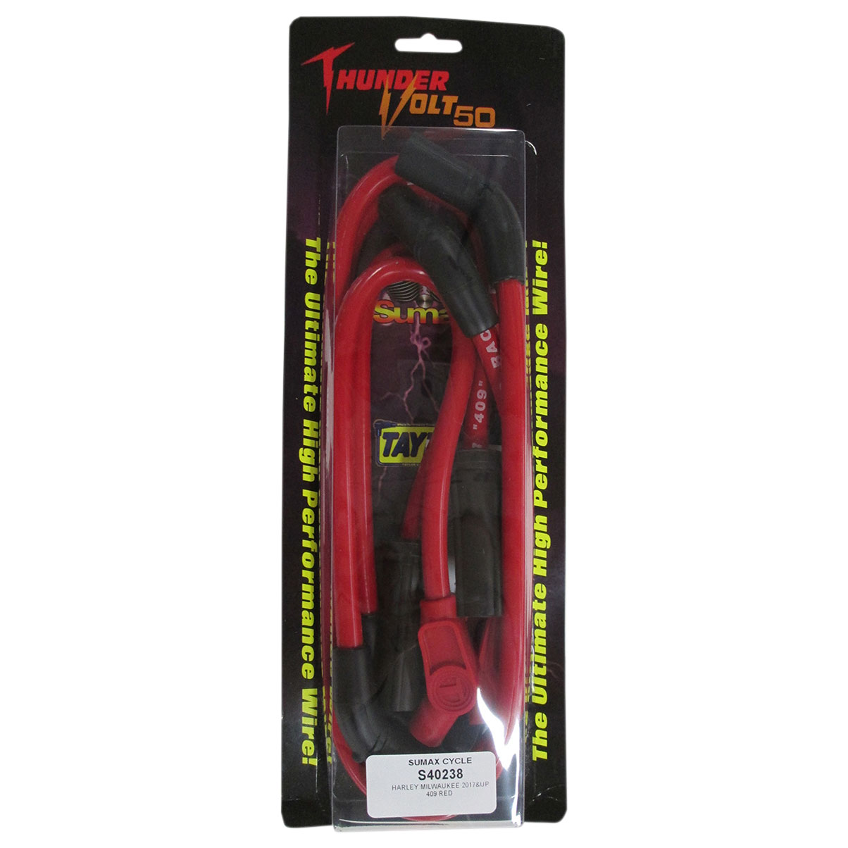 Sumax 409 Pro Race Spark Plug Wires Red