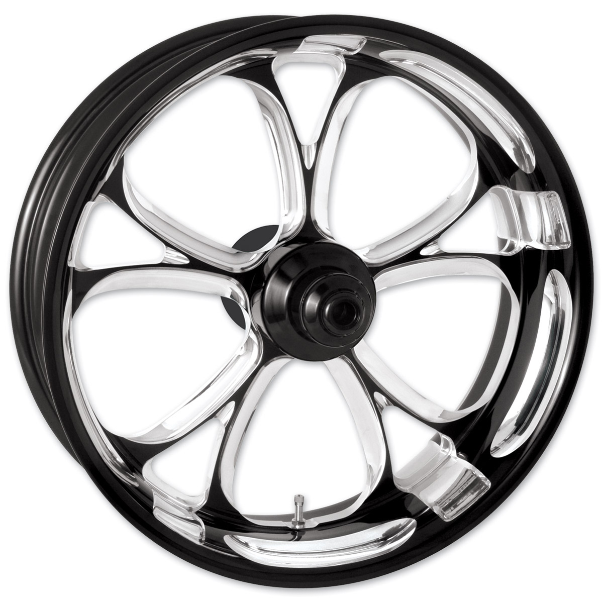 Performance Machine Luxe Platinum Cut Front Wheel 18x3.5