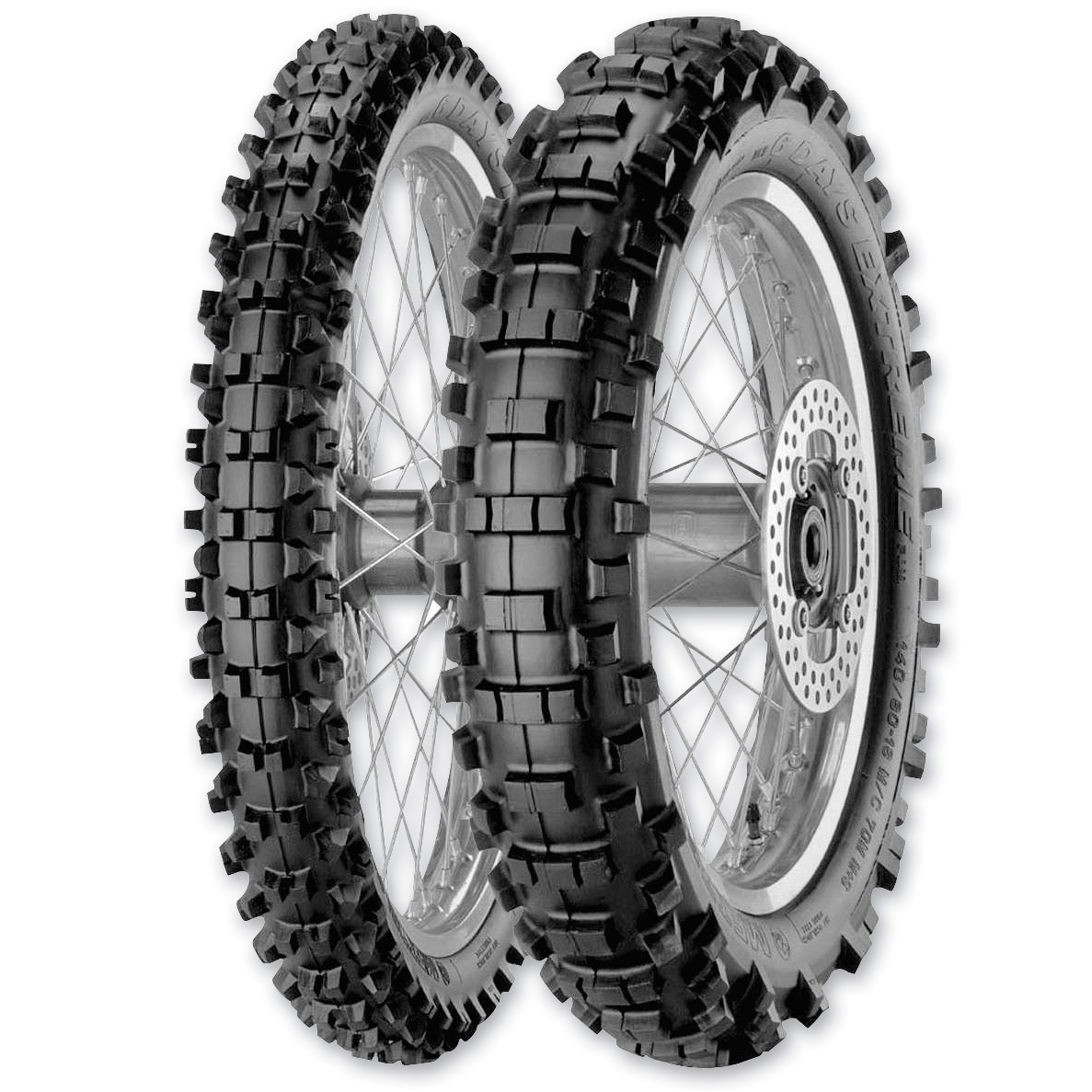Metzeler 6 Days Extreme 140/80-18 Soft Rear Tire