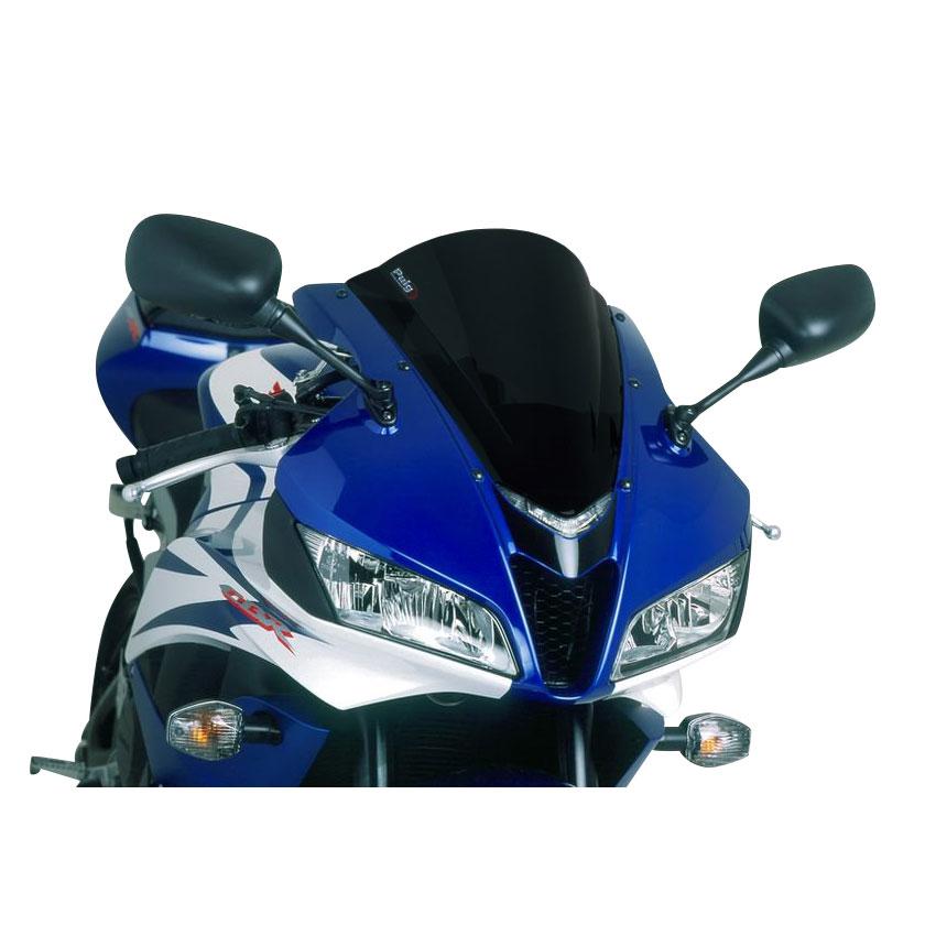 Puig Racing Windscreen Black Opaque