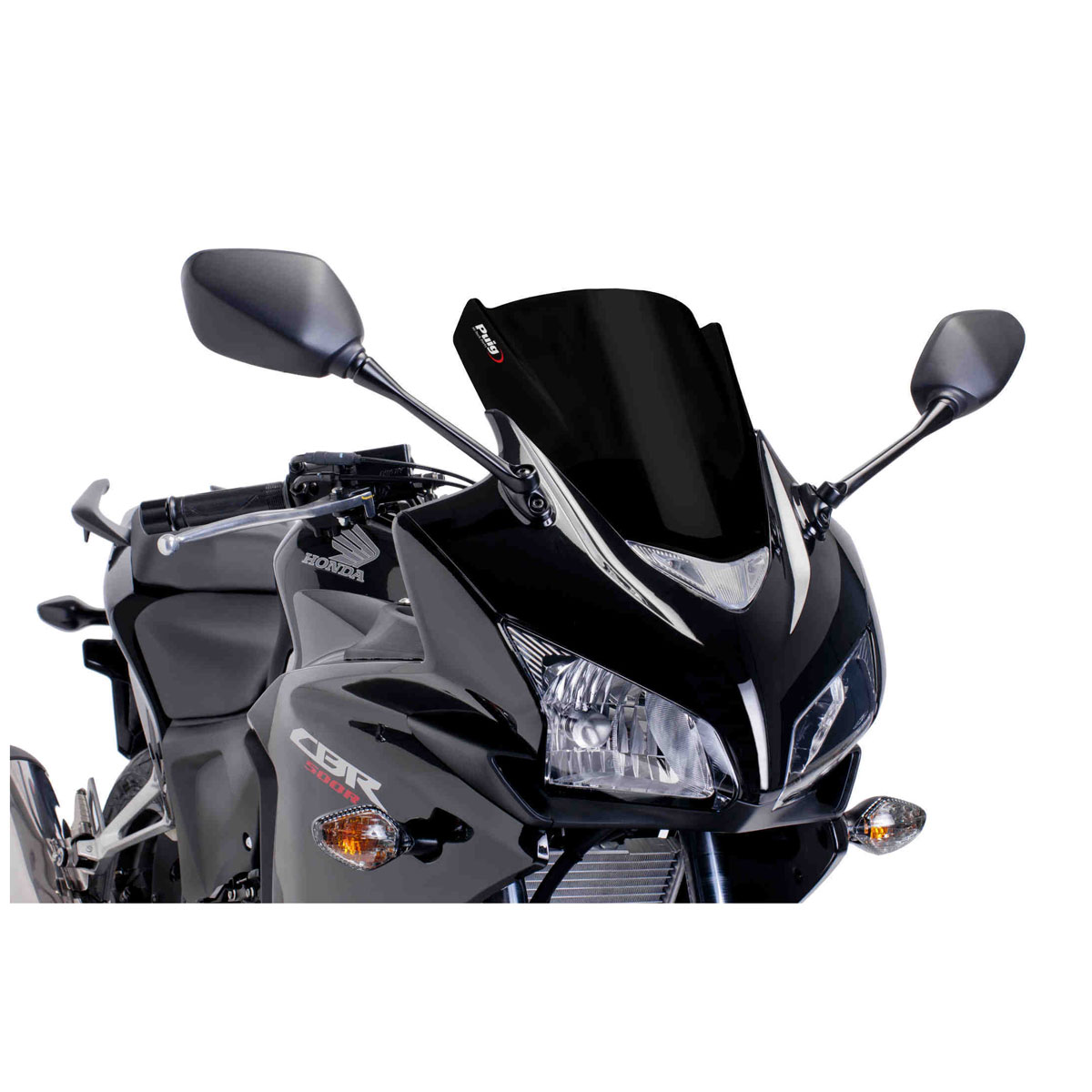 Puig Racing Windscreen Black
