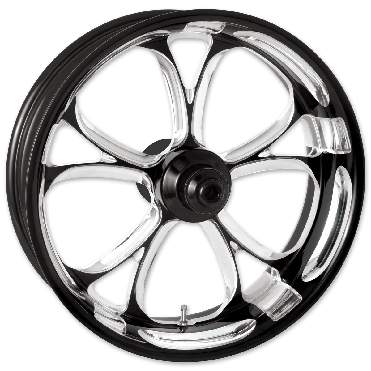 Performance Machine Luxe Platinum Cut Front Wheel, 23