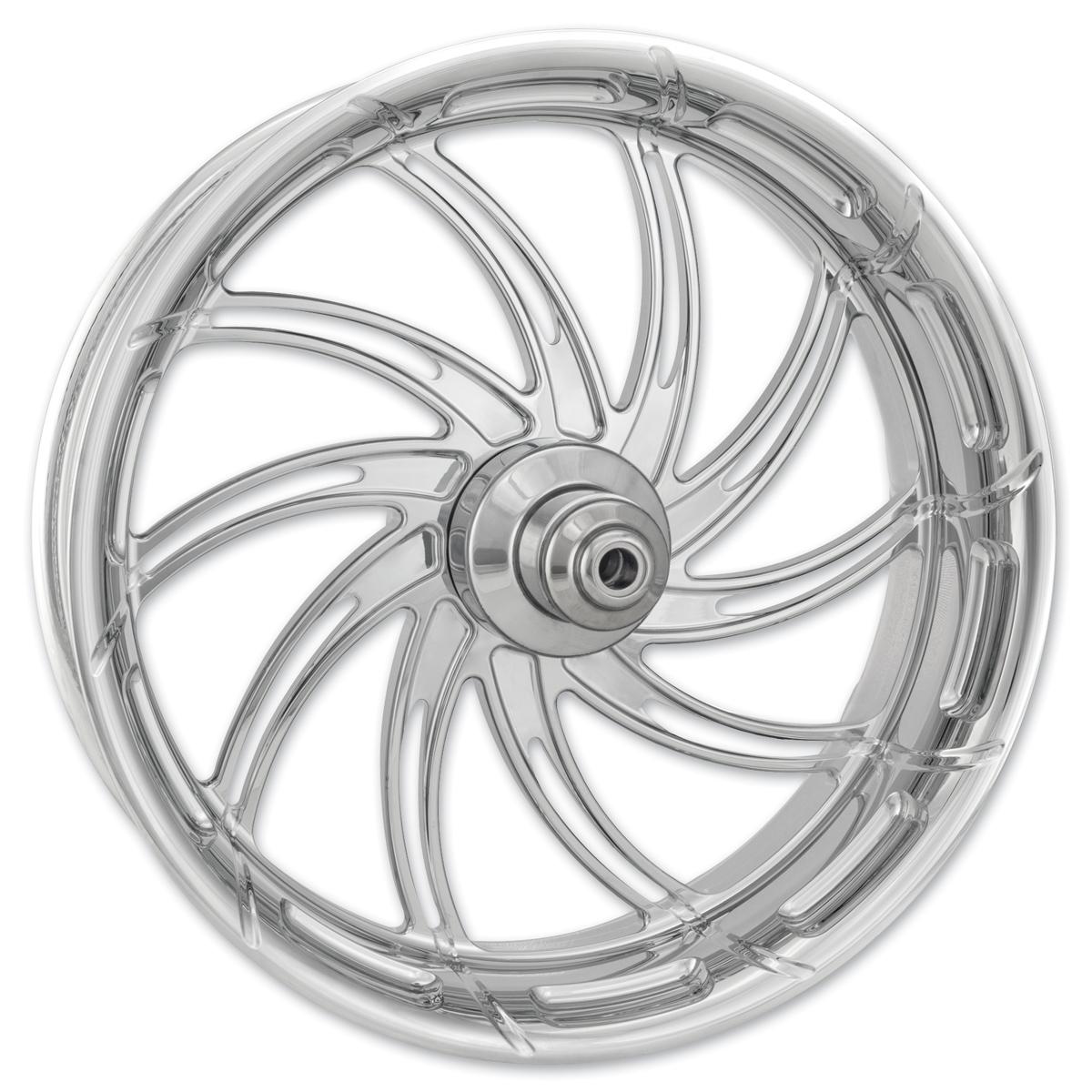 Performance Machine Supra Chrome Front Wheel 18x3.5 Dual disc
