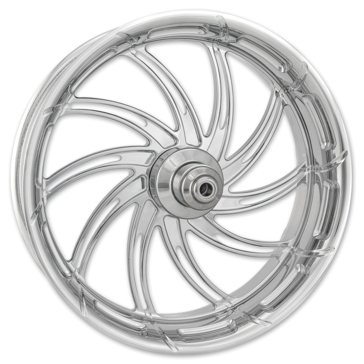 Performance Machine Supra Chrome Front Wheel 21x3.5 Dual disc