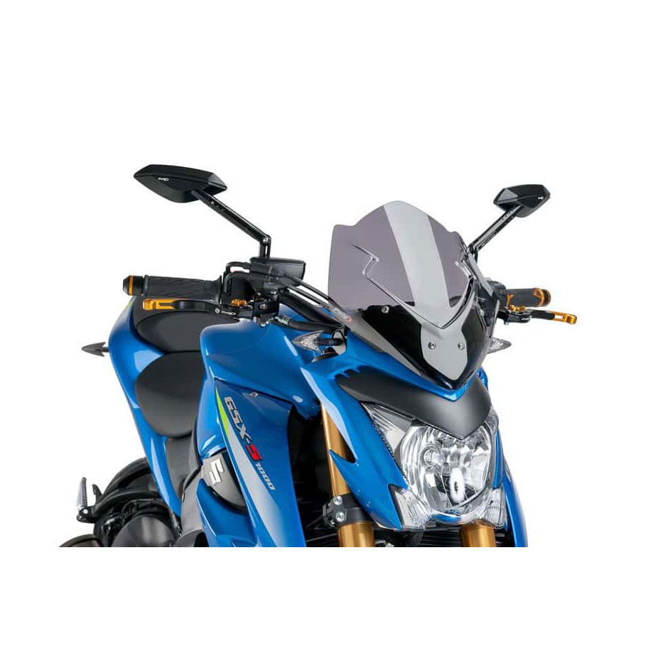 Puig Naked New Generation Sport Windscreen Smoke