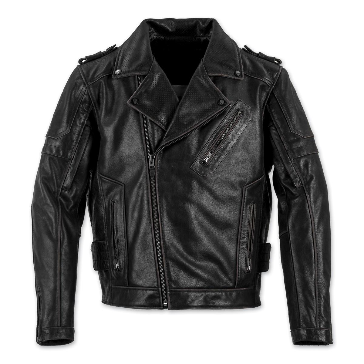 Black Brand Men's Carnivore Black Leather Jacket