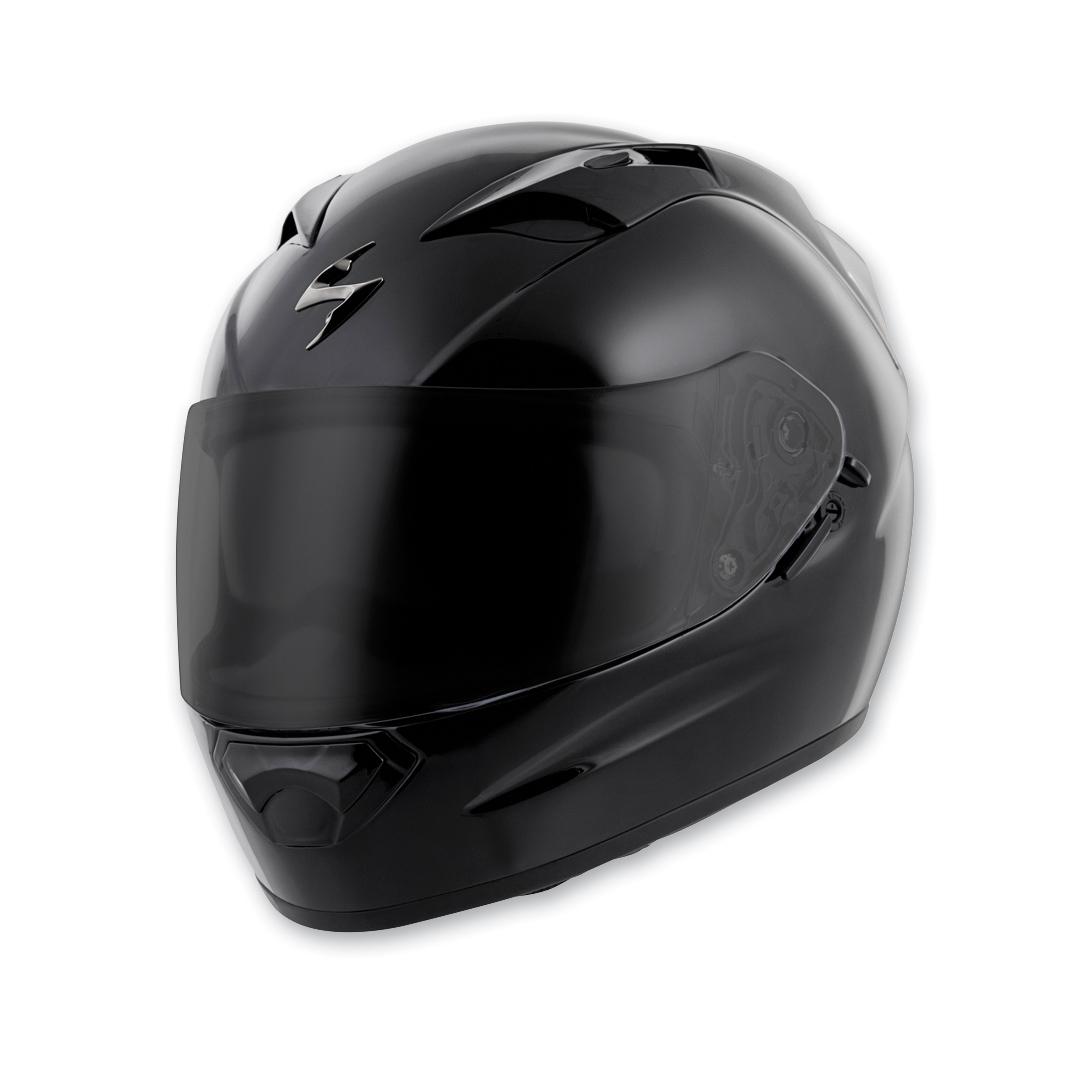 Scorpion EXO EXO-T1200 Gloss Black Full Face Helmet