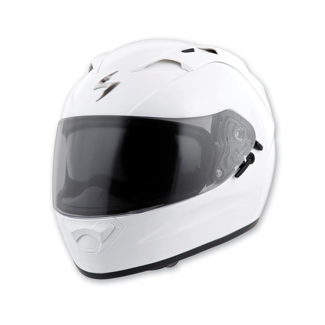 Scorpion EXO EXO-T1200 Gloss White Full Face Helmet