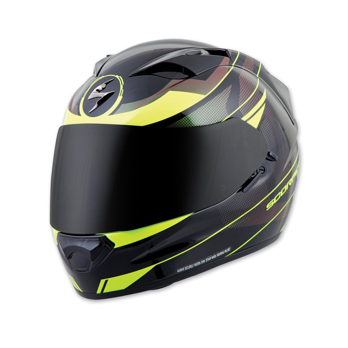 Scorpion EXO EXO-T1200 Mainstay Black/Neon Full Face Helmet