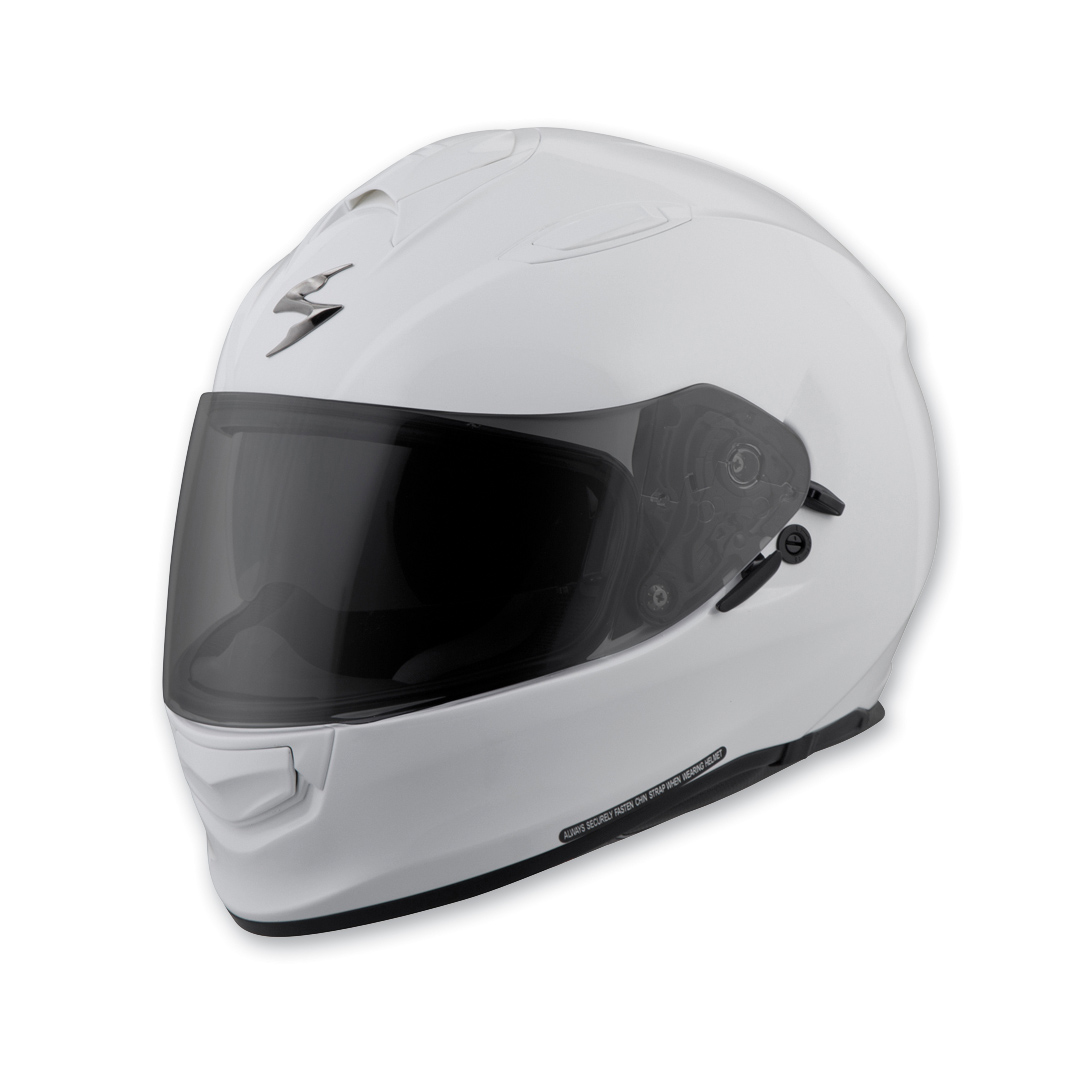 Scorpion EXO EXO-T510 Gloss White Full Face Helmet