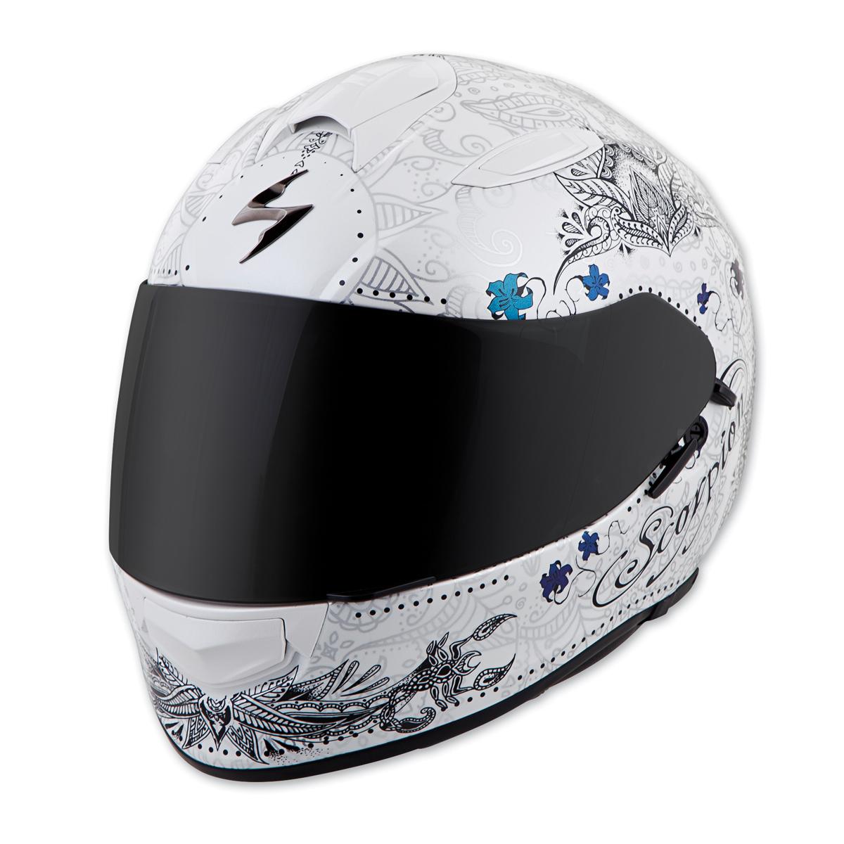 Scorpion EXO EXO-T510 Azalea White/Silver Full Face Helmet