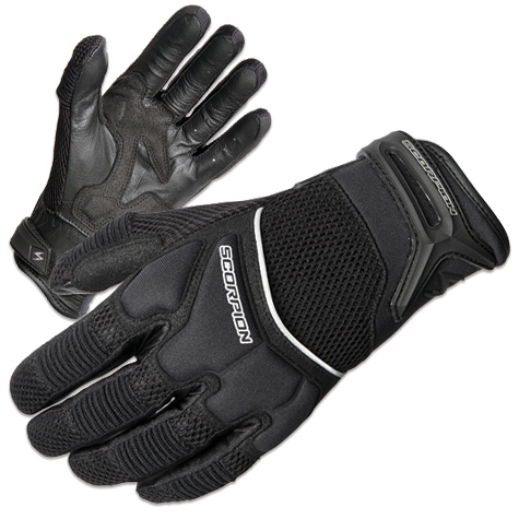 Scorpion EXO Men's Cool Hand II Black Mesh Gloves