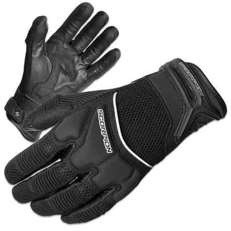 Scorpion EXO Men's Cool Hand II Black Mesh Gloves
