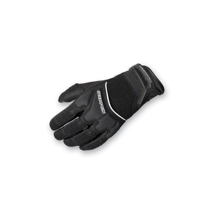Scorpion EXO Women's Cool Hand II Black Mesh Gloves