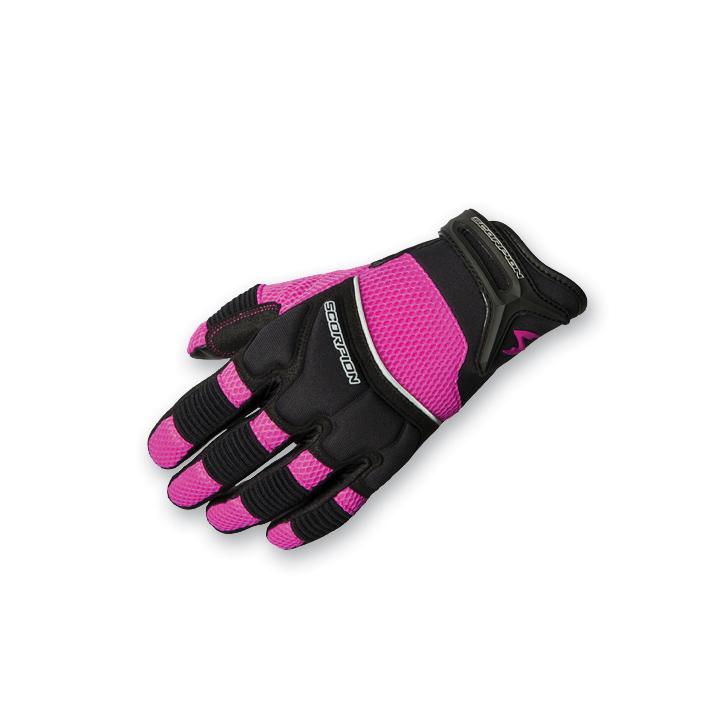 Scorpion EXO Women's Cool Hand II Pink Mesh Gloves