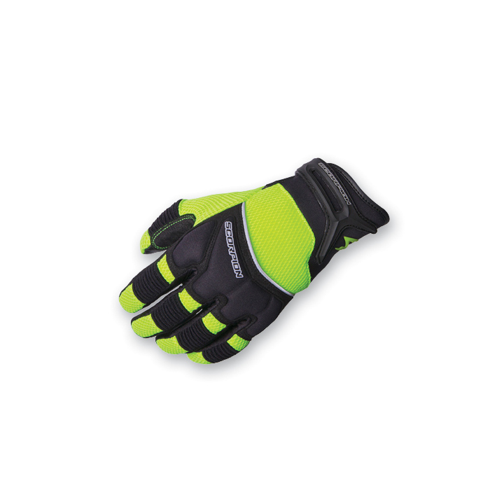 Scorpion EXO Women's Cool Hand II Neon Mesh Gloves