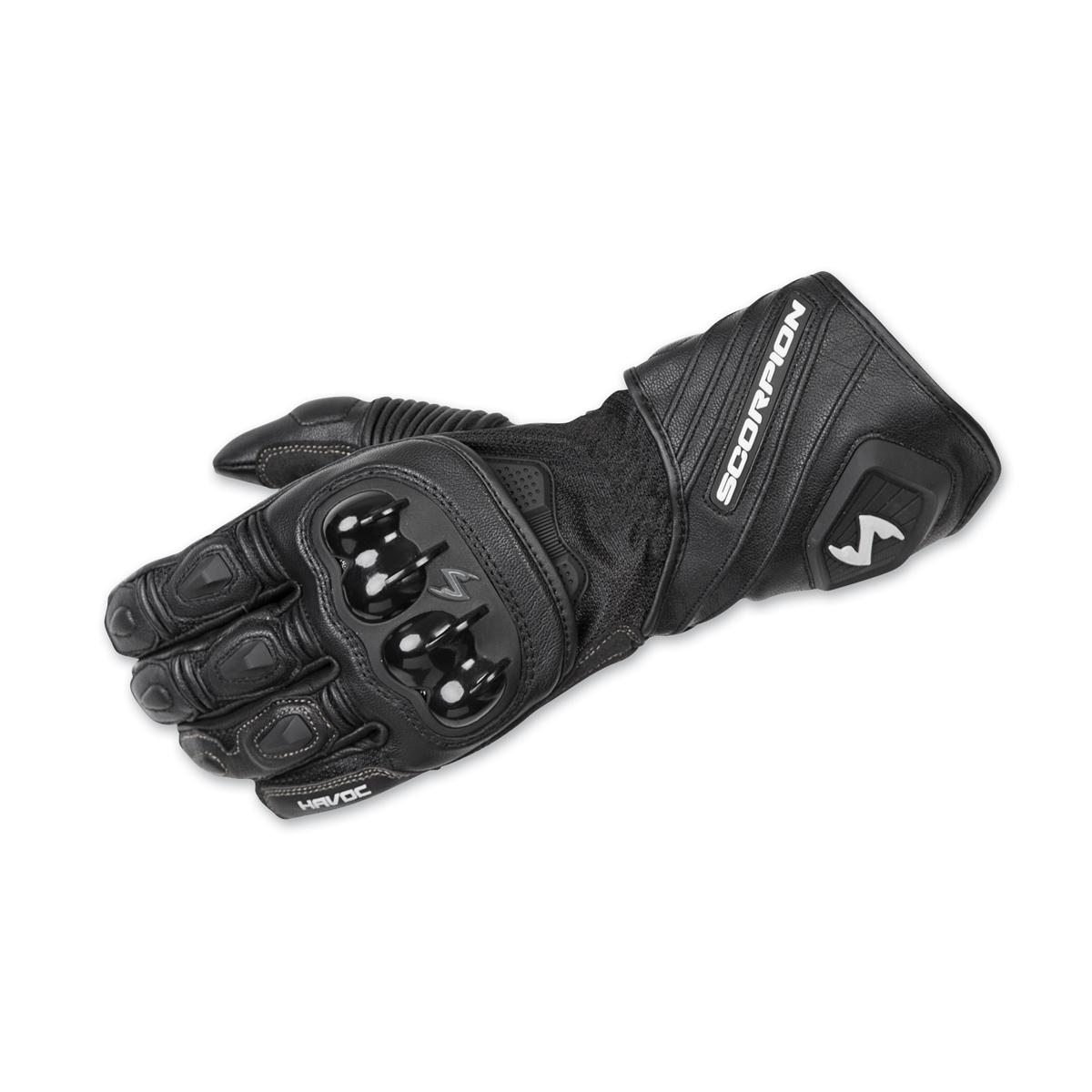 Scorpion EXO Men's Havoc Black Leather Gloves