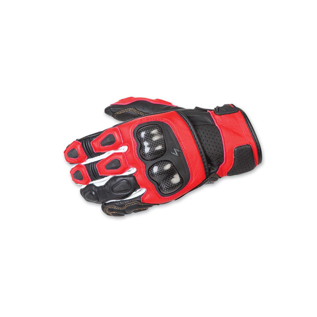 Scorpion EXO Men's SGS MKII White Gloves