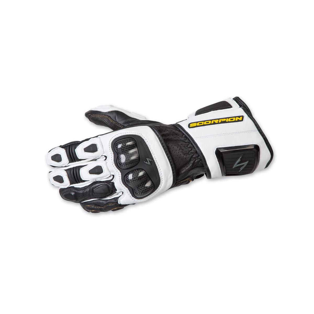 Scorpion EXO Men's SG3 MKII White Gauntlet Gloves