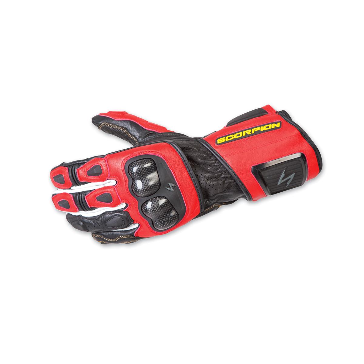 Scorpion EXO Men's SG3 MKII Red Gauntlet Gloves