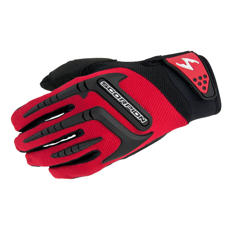 Scorpion EXO Men's Skrub Red Textile Gloves