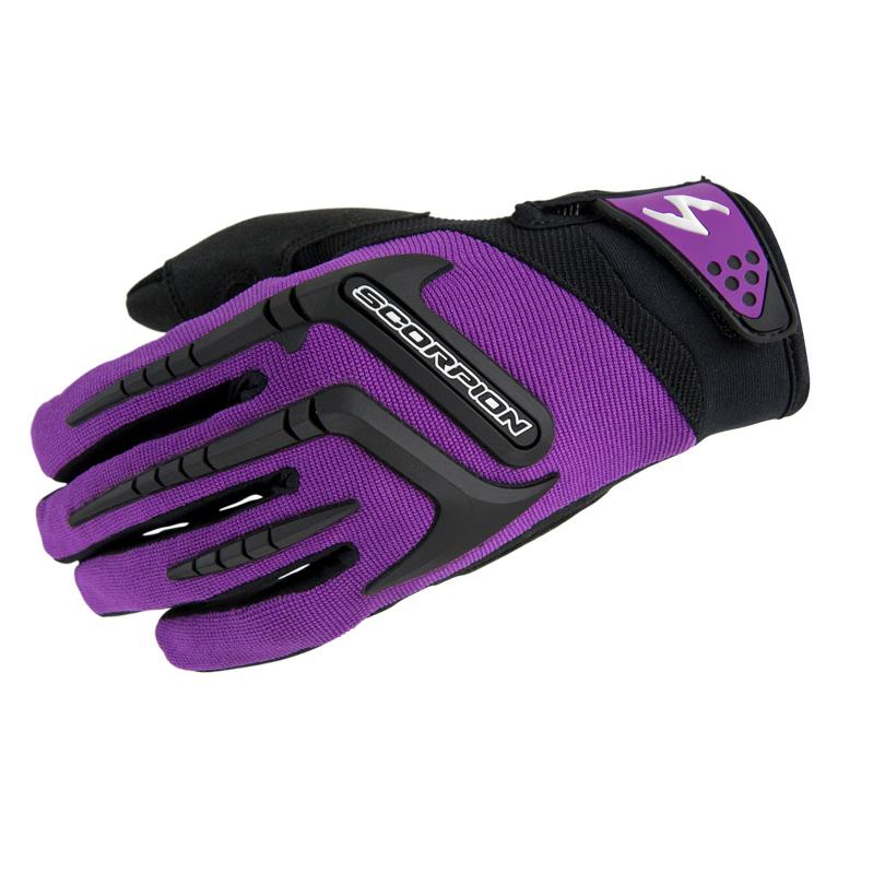 Scorpion EXO Women's Skrub Purple Gloves