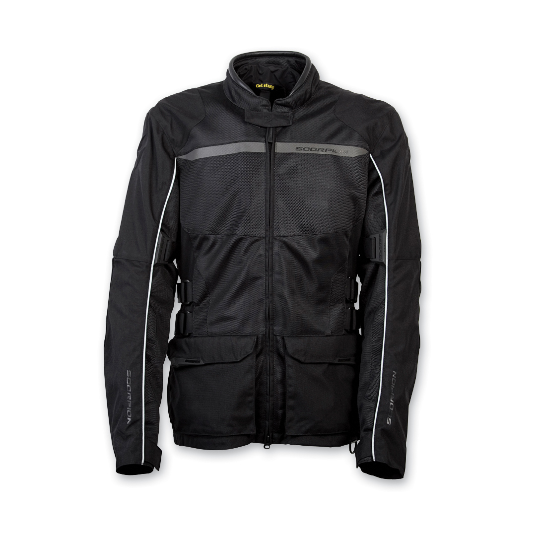 Scorpion EXO Men's Yuma Black Jacket
