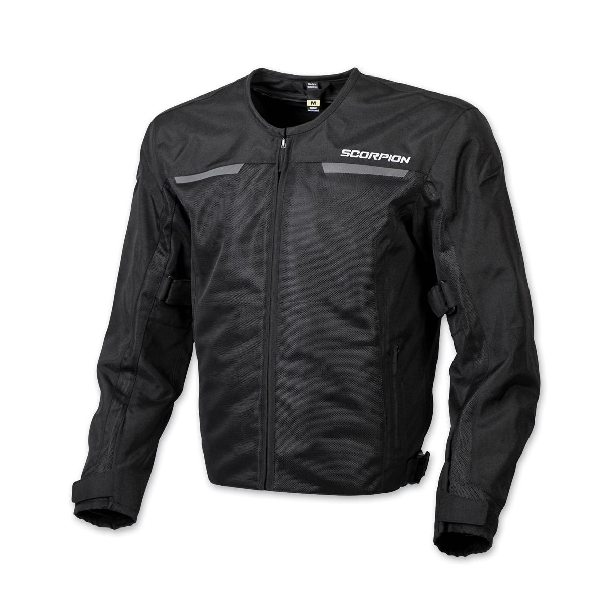 Scorpion EXO Men's Drafter II Black Mesh Jacket
