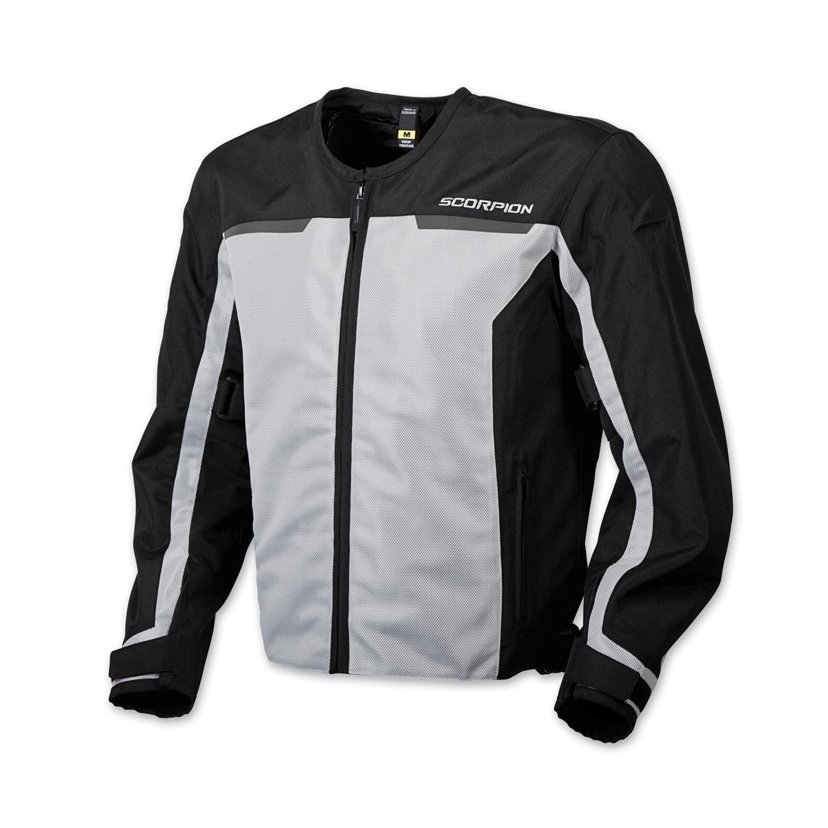 Scorpion EXO Men's Drafter II Silver Mesh Jacket