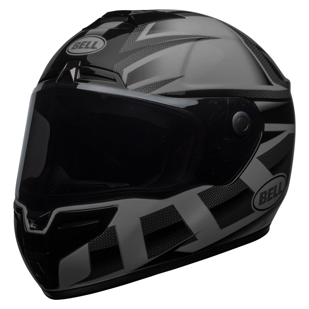 f4f600a6 Bell SRT Blackout Predator Matte/Gloss Full Face Helmet - 7095595 ...