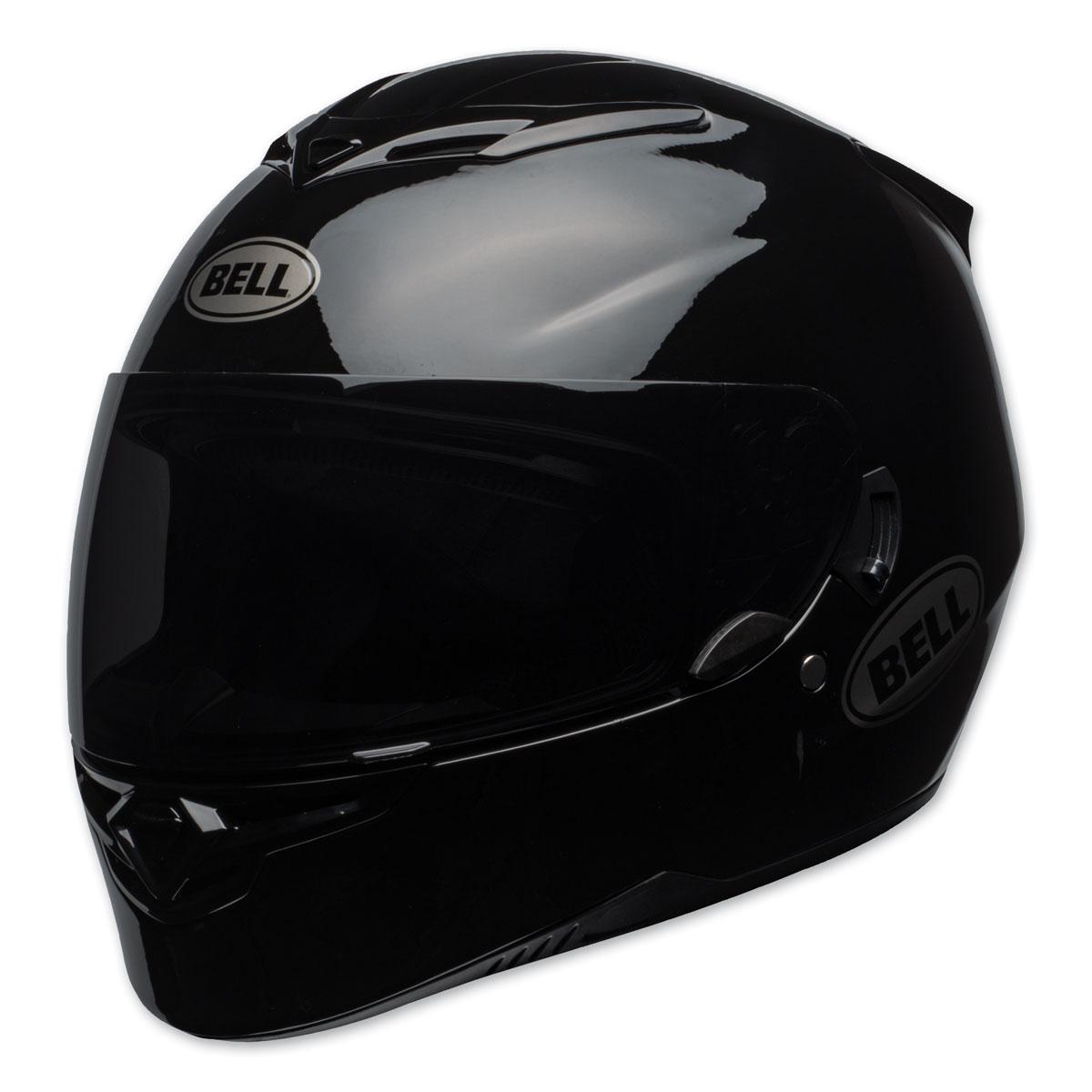 Bell Full Face Helmet >> Bell Rs 2 Gloss Black Full Face Helmet 7092207 Jpcycles Com