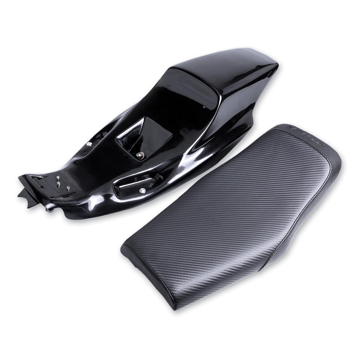 Saddlemen Eliminator Tail Section and Carbon Fiber Seat Kits