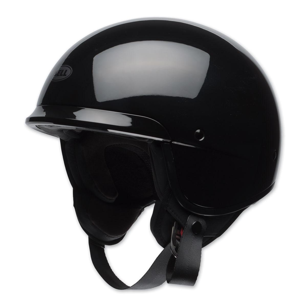 Bell Scout Air Gloss Black Half Helmet