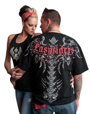 Easyriders Men's Short-Sleeve Wicked Spine T-Shirt