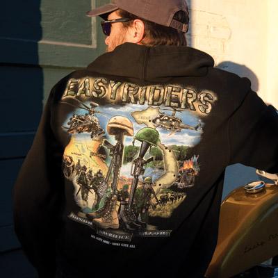 Easyriders Fallen Heroes Zip Hooded Sweatshirt