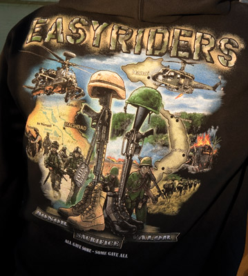 Easyriders Fallen Heroes Zip Hooded Sweatshirt