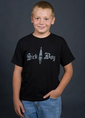 Sick Boy Kid's Spark Plug T-shirt